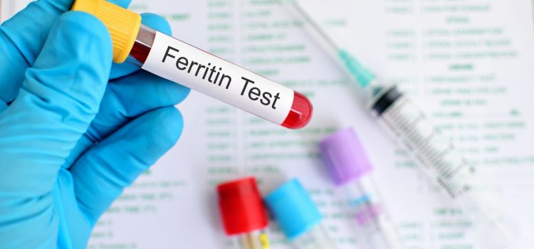What are the symptoms of ferritin deficiency?