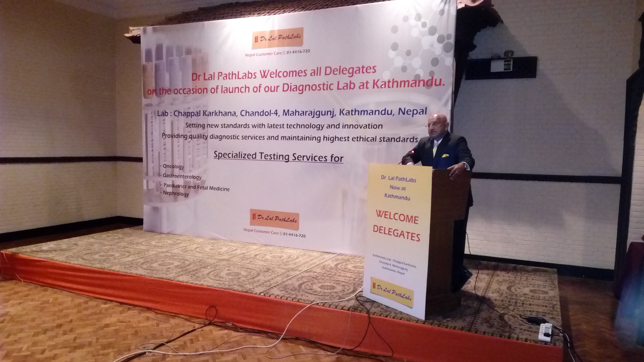 Dr Arvind Lal