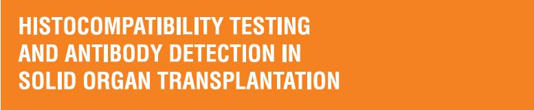 Histocompatibility Testing