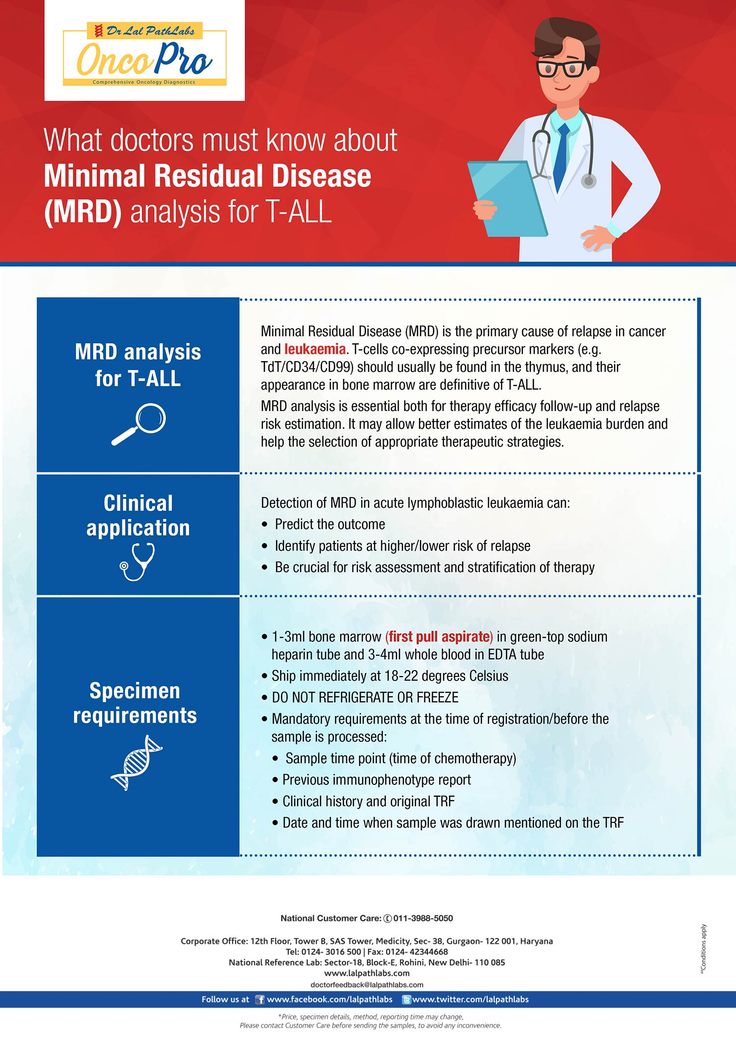 What Doctors Must Know About Minimal Residual Disease MRD Analysis for T-ALL