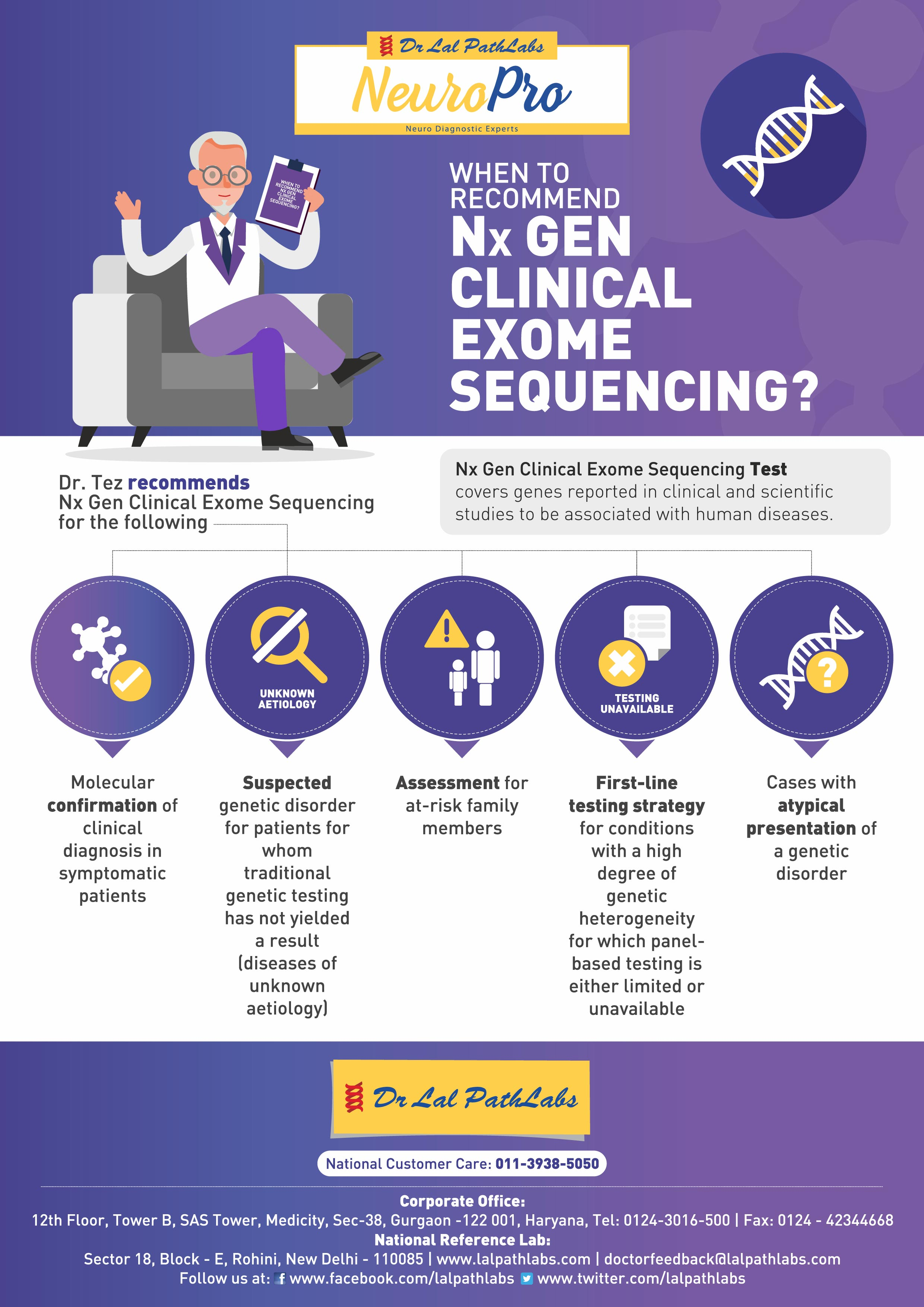 When To Recommend Nx Gen Clinical Exome Sequencing