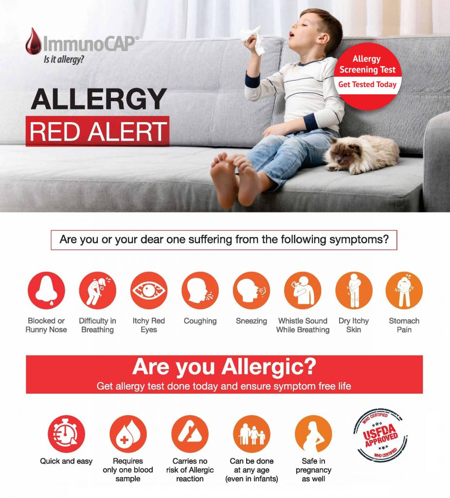Allergy Red Alert - Dr. Lal PathLabs