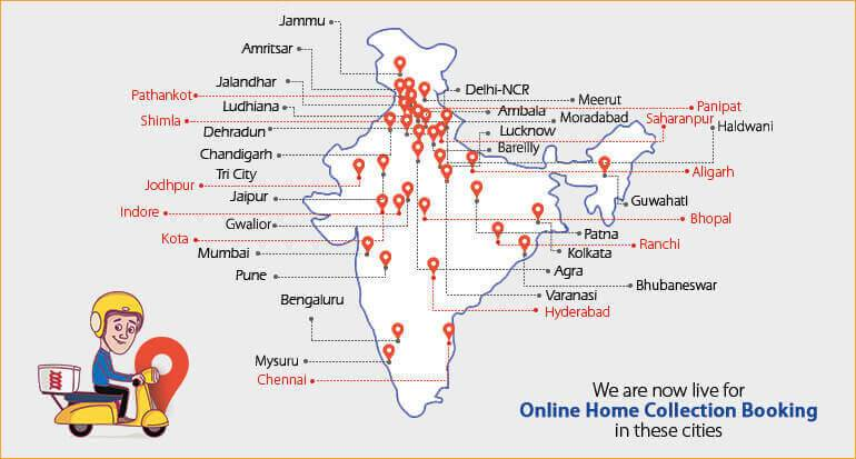 Online Home Collection Booking