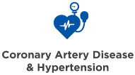 coronary artery disease & hypertension