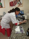 pathology lab test