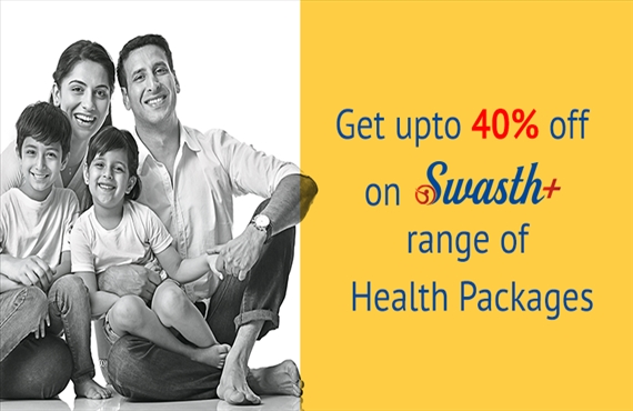 Upto 40% off on Swasth Package