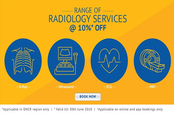 10% off on Radiology Test(s)